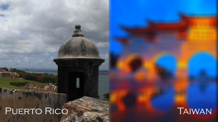 Puerto Rico y taiwan